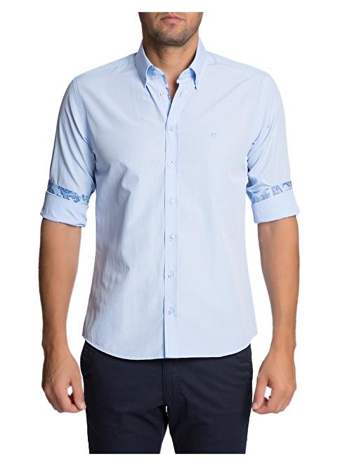 Pierre Cardin Gömlek Mavi